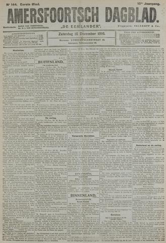 Amersfoortsch Dagblad / De Eemlander 1916-12-16