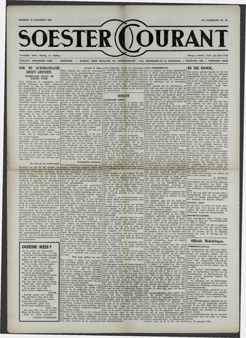 Soester Courant 1957-08-20
