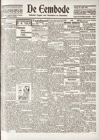 De Eembode 1935-04-26