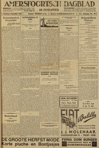 Amersfoortsch Dagblad / De Eemlander 1932-09-03