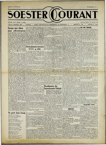 Soester Courant 1951-01-12