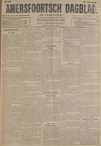 Amersfoortsch Dagblad / De Eemlander 1916-01-26