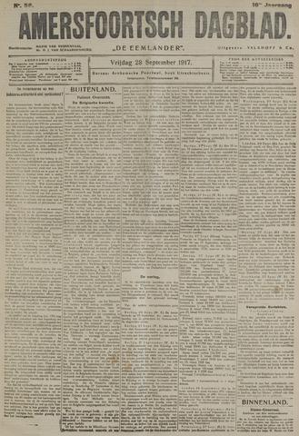 Amersfoortsch Dagblad / De Eemlander 1917-09-28