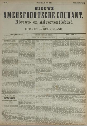 Nieuwe Amersfoortsche Courant 1886-07-21