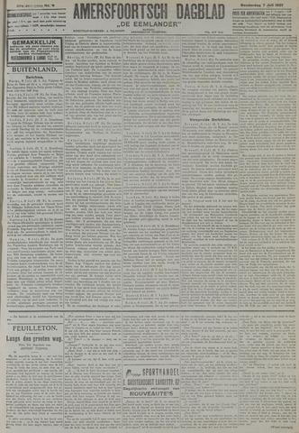 Amersfoortsch Dagblad / De Eemlander 1921-07-07