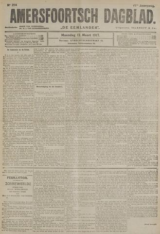 Amersfoortsch Dagblad / De Eemlander 1917-03-12