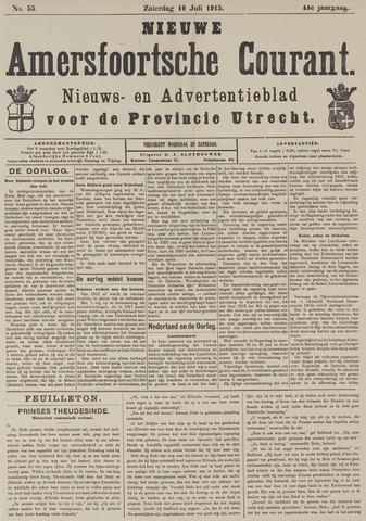 Nieuwe Amersfoortsche Courant 1915-07-10
