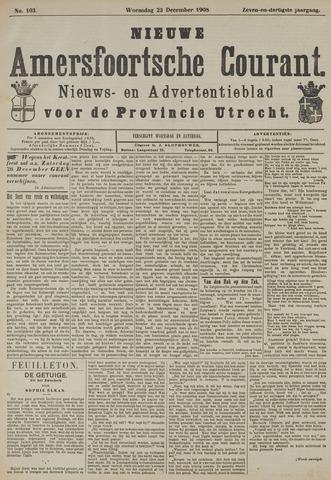 Nieuwe Amersfoortsche Courant 1908-12-23