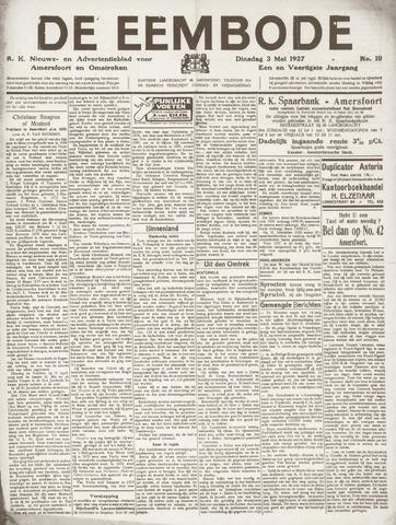 De Eembode 1927-05-03