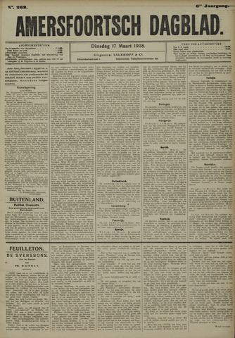 Amersfoortsch Dagblad 1908-03-17
