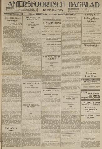 Amersfoortsch Dagblad / De Eemlander 1933-08-30