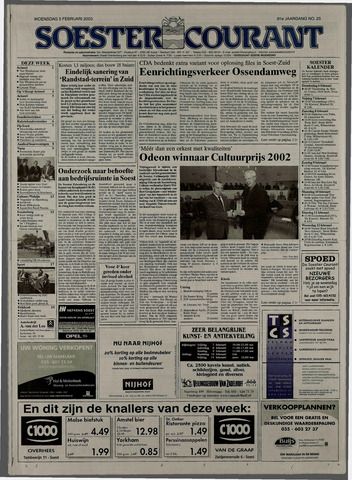 Soester Courant 2003-02-05
