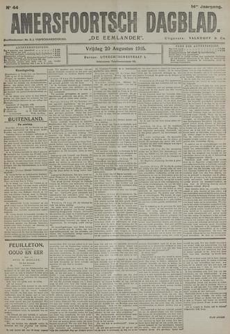 Amersfoortsch Dagblad / De Eemlander 1915-08-20