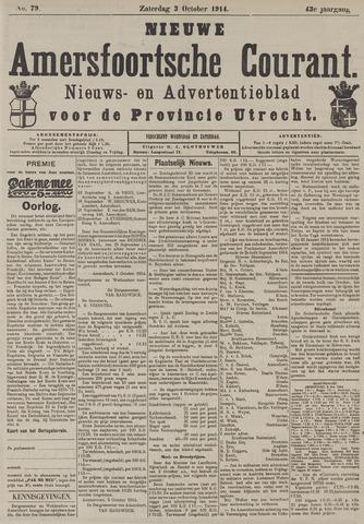 Nieuwe Amersfoortsche Courant 1914-10-03