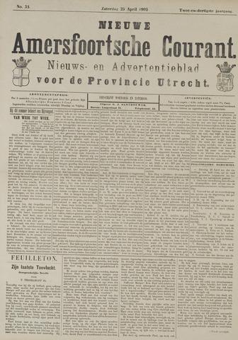 Nieuwe Amersfoortsche Courant 1903-04-25