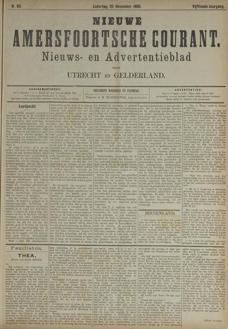 Nieuwe Amersfoortsche Courant 1886-11-20