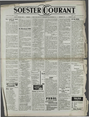 Soester Courant 1952-11-14