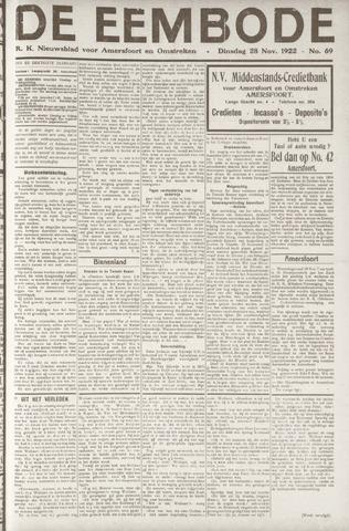 De Eembode 1922-11-28