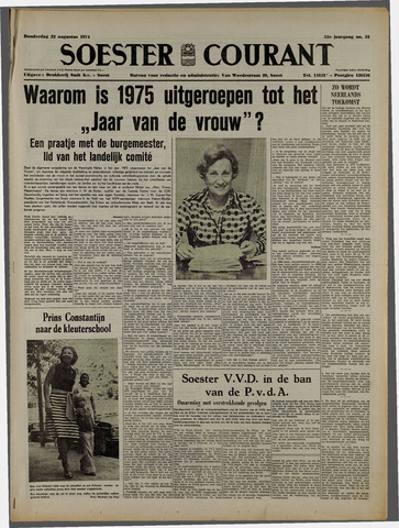 Soester Courant 1974-08-22