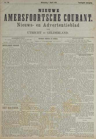 Nieuwe Amersfoortsche Courant 1891-04-01