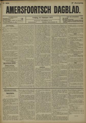 Amersfoortsch Dagblad 1905-02-10