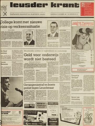 Leusder Krant 1987-11-19