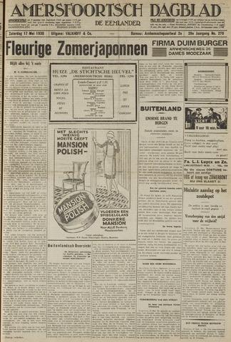 Amersfoortsch Dagblad / De Eemlander 1930-05-17