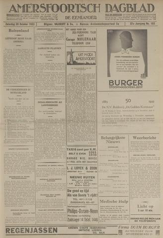Amersfoortsch Dagblad / De Eemlander 1933-10-28