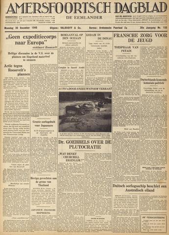 Amersfoortsch Dagblad / De Eemlander 1940-12-30