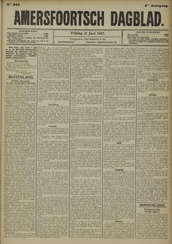 Amersfoortsch Dagblad 1907-06-21