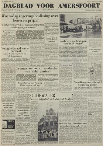 Dagblad voor Amersfoort 1950-09-02