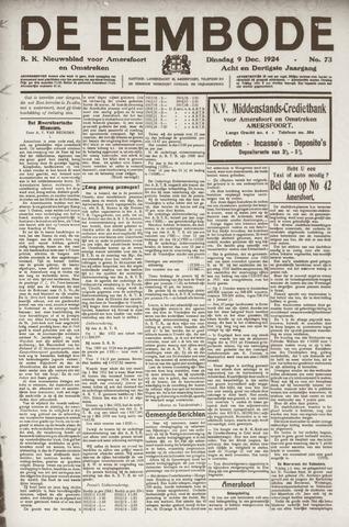 De Eembode 1924-12-09