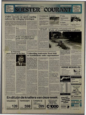 Soester Courant 1992-07-08