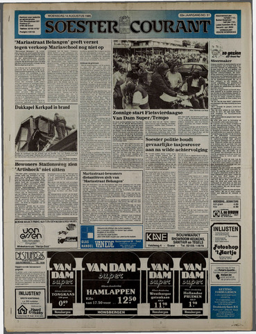 Soester Courant 1985-08-14
