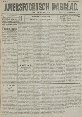 Amersfoortsch Dagblad / De Eemlander 1915-06-22