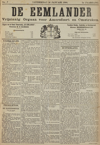 De Eemlander 1908-01-16
