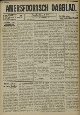 Amersfoortsch Dagblad 1907-04-15