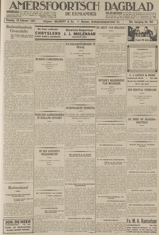Amersfoortsch Dagblad / De Eemlander 1931-02-10