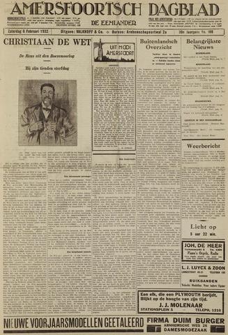 Amersfoortsch Dagblad / De Eemlander 1932-02-06