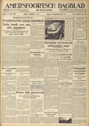 Amersfoortsch Dagblad / De Eemlander 1939-06-16