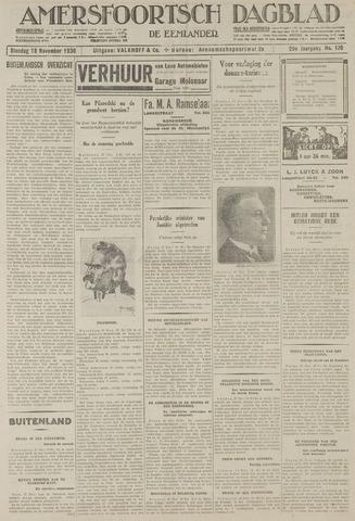 Amersfoortsch Dagblad / De Eemlander 1930-11-18