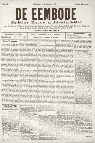De Eembode 1891-02-28