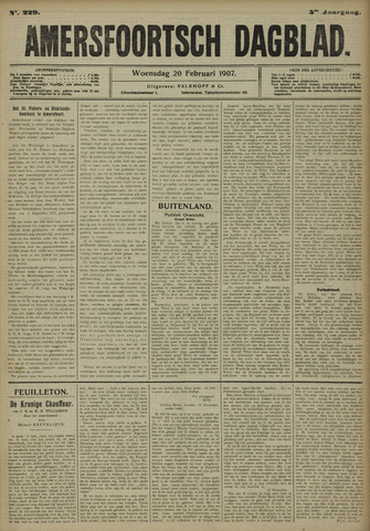 Amersfoortsch Dagblad 1907-02-20