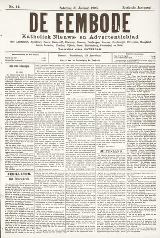 De Eembode 1903-01-31