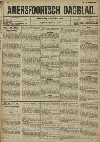 Amersfoortsch Dagblad 1905-10-04