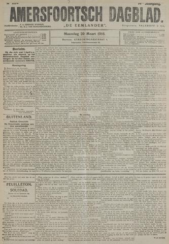 Amersfoortsch Dagblad / De Eemlander 1916-03-20