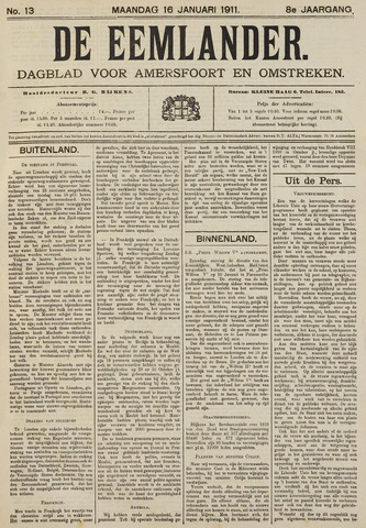 De Eemlander 1911-01-16
