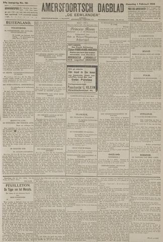 Amersfoortsch Dagblad / De Eemlander 1926-02-01
