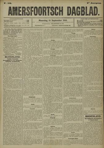 Amersfoortsch Dagblad 1910-09-19