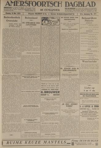 Amersfoortsch Dagblad / De Eemlander 1933-05-16